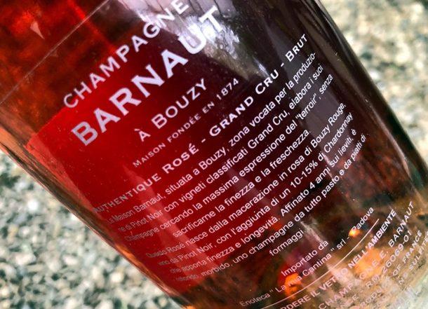 Controetichetta Barnaut Authentique Rosé
