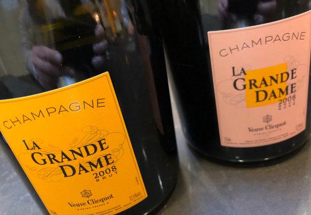 Bottiglie La Grande Dame 2008 brut e rosé
