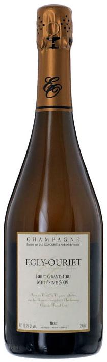 Bottiglia di Champagne Egly-Ouriet 2009