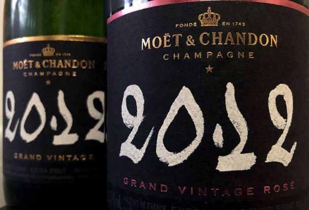 champagne Moët & Chandon 2012
