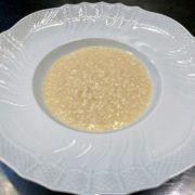 piatto risotto allo champagne