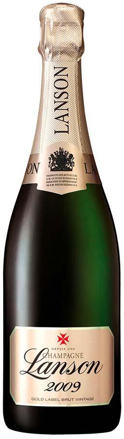 Bottiglia Lanson Gold Label 2009