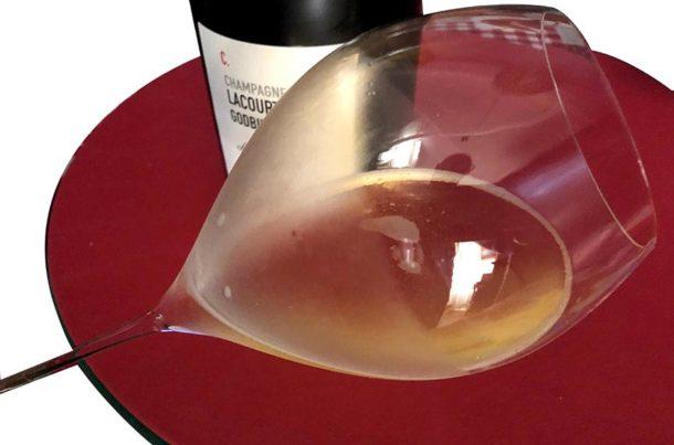 Degustazione con bicchiere 'Grand Champagne 45'
