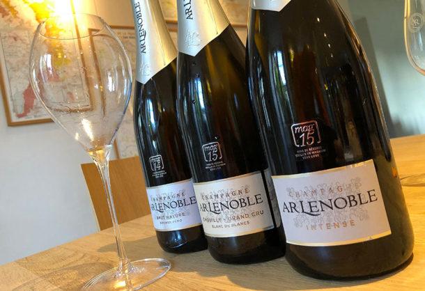 Champagne AR Lenoble presenti in Guida Grandi Champagne