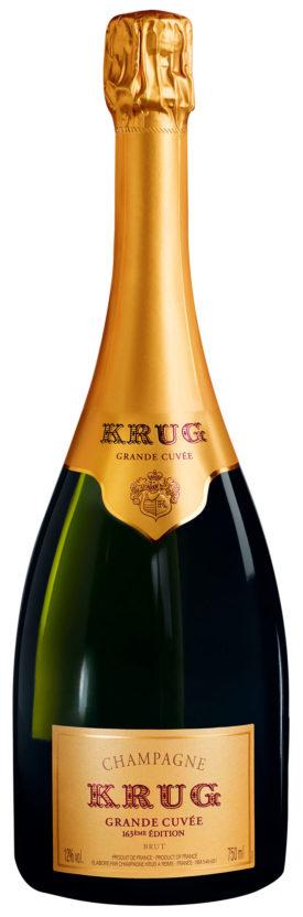 Bottiglia Krug Grande Cuvée 163ème