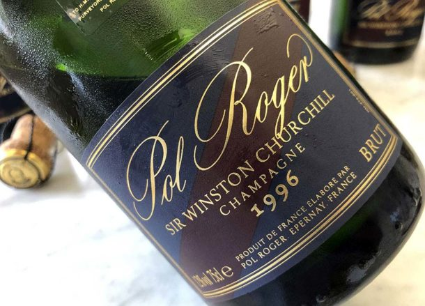 Pol Roger Sir Winston Churchill annata 1996