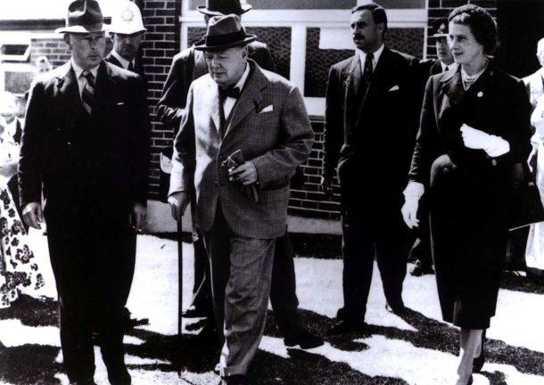 Winston Churchill e Odette Pol Roger