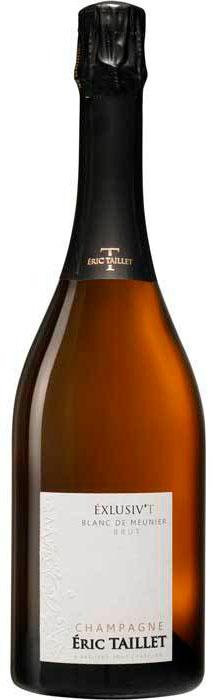 Bottiglia champagne Eric Taillet Exclusiv'T