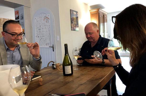Degustazione in champagne