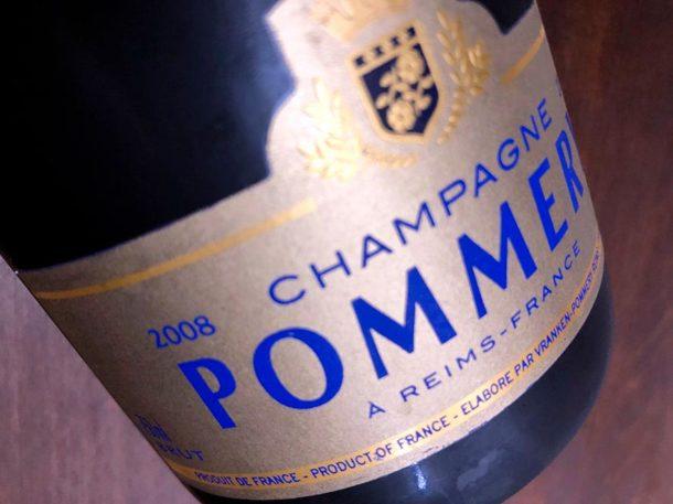 Champagne Pommery Grand Cru Millésime 2008