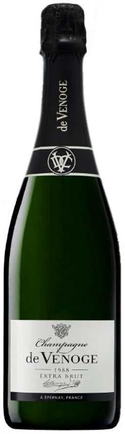 Bottiglia De Venoge Extra-Brut 1988