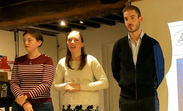 Julie, Charlotte e Valentin De Sousa