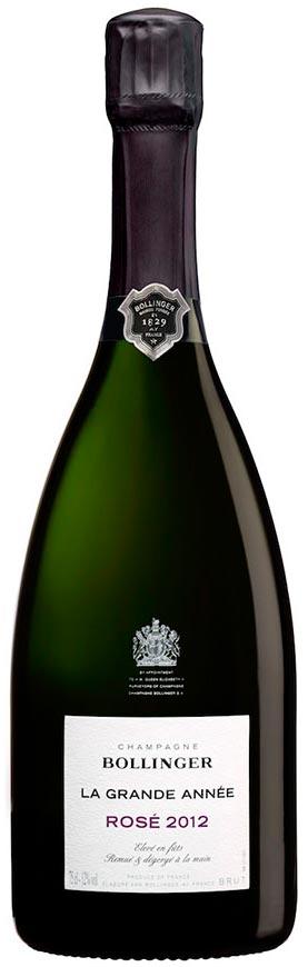 Bollinger La Grande Année 2012 rosé