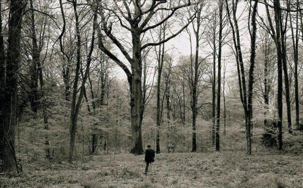 Claude Giraud nella Forêt d'Argonne:
