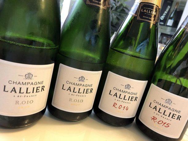 degustazione champagne Lallier