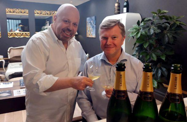 Francis Tribaut con Alberto Lupetti