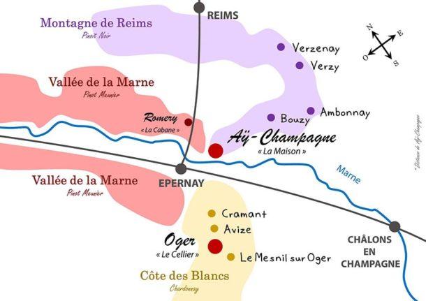 Mappa Epernay