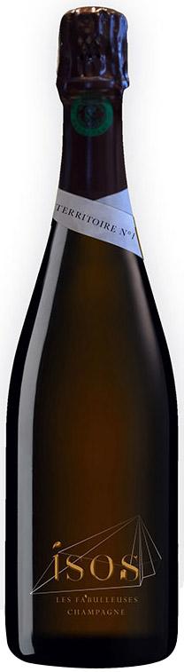Bottiglia champagne Fa'Bulleuses Cuvée Isos - Territoire n°1