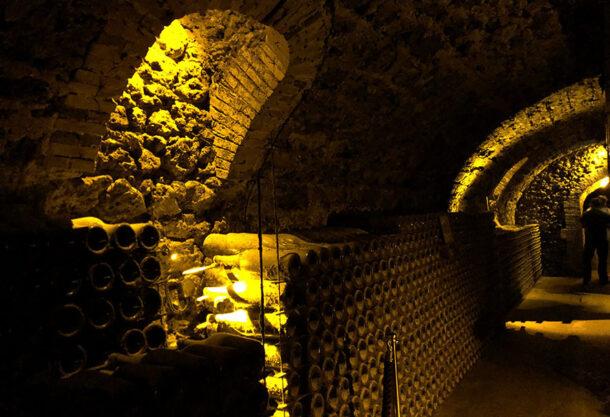 Cave sotterranee di Billecart