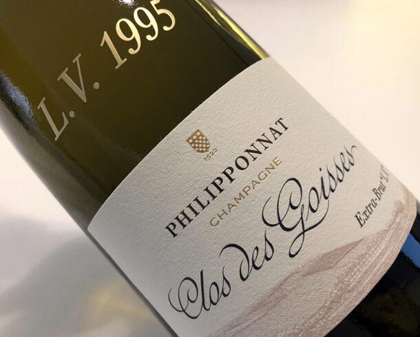Philipponnat Clos des Goisses L.V. 1995