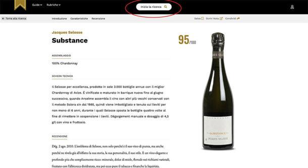 Scheda Champagne