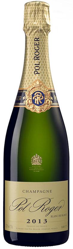Bottiglia Pol Roger BdB 2013
