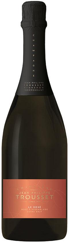 Bottiglia champagne Trousset Le Rosé