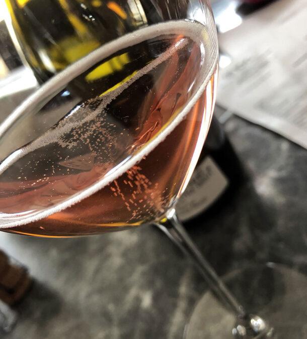 Degustazione champagne Trousset Le Rosé