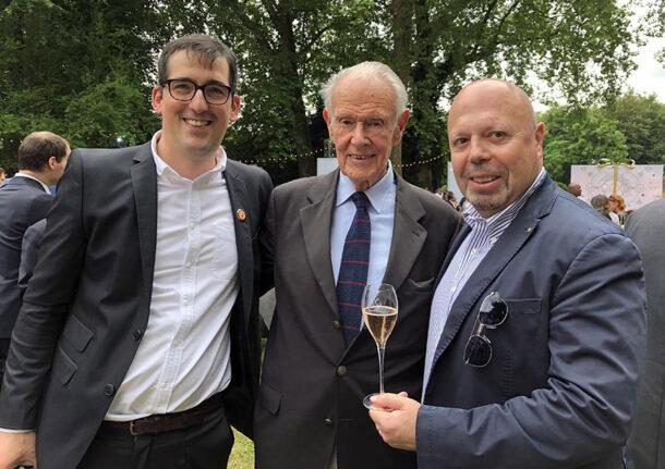 Florent Nys, Jean Roland-Billecart e Alberto Lupetti