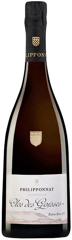 Bottiglia di champagne Philipponnat Clos des Goisses 2011