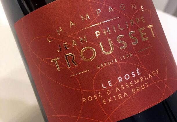 Champagne Trousset Le Rosé