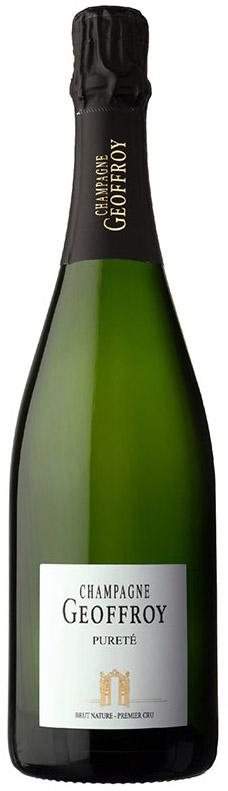Bottiglia di Champagne Geoffroy Pureté