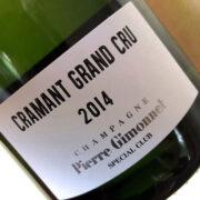 Champagne Pierre Gimonnet Cramant Grand Cru 2014