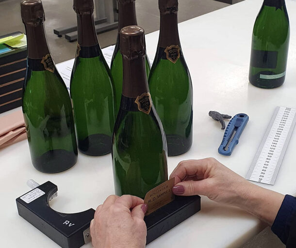 etichettatura Bollinger RD sample 1