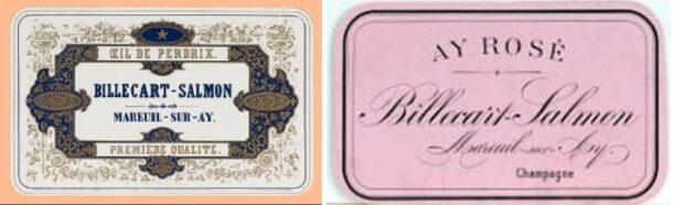 Vecchie etichette Billecart