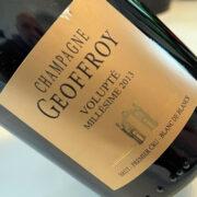 Recensione champagne Geoffroy Volupté 2013